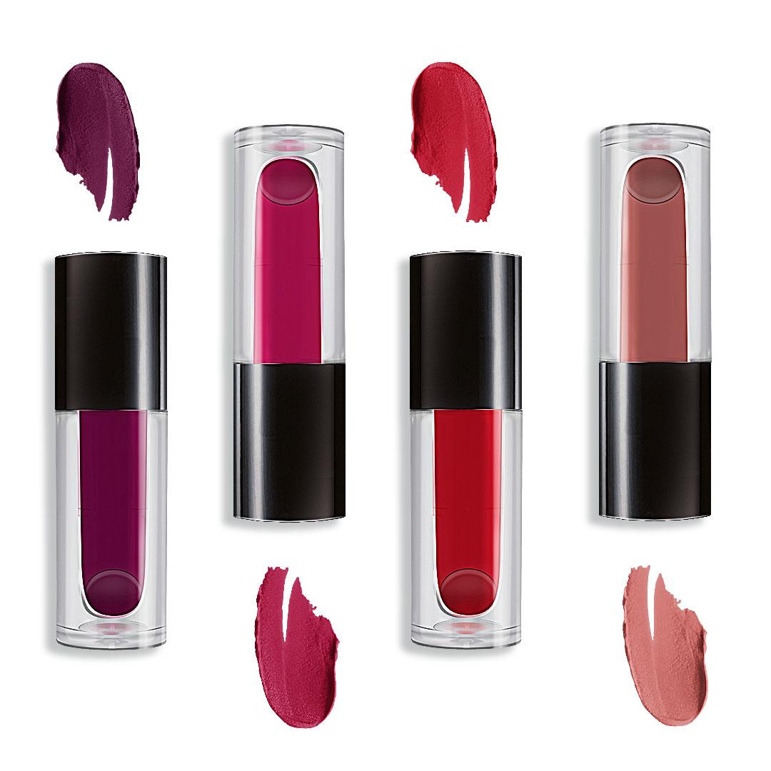 kolorowe szminki