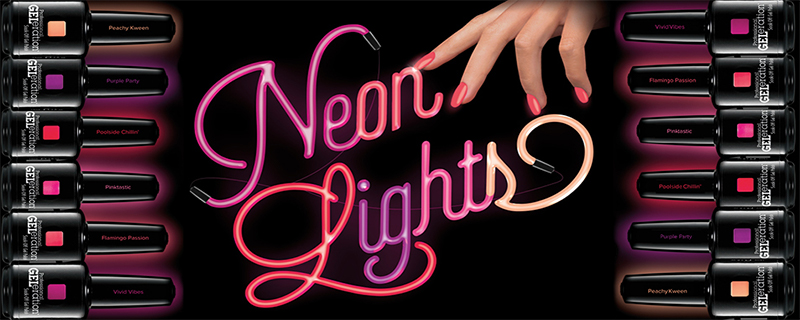 neon lights jessica cosmetics