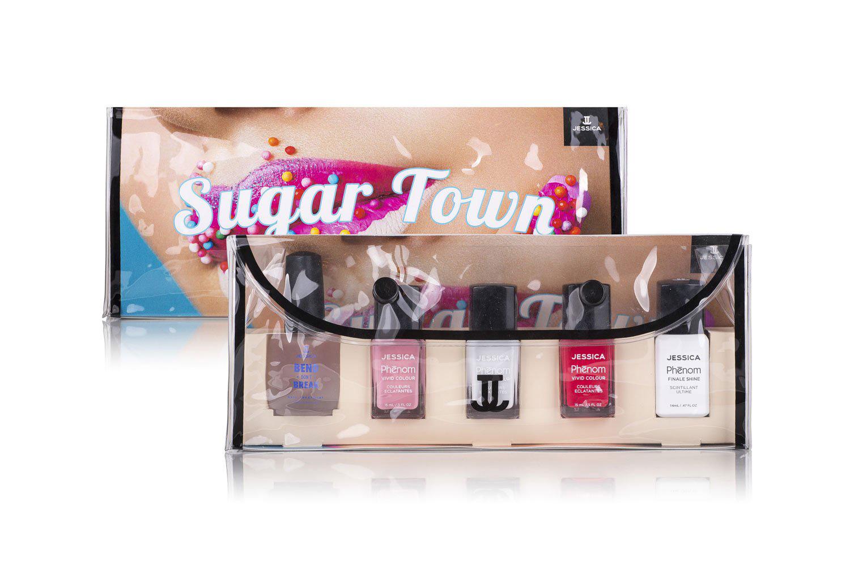 zestaw lakierów sugar town